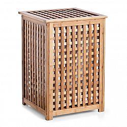 Koš na prádlo bambusový E87