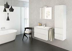 Koupelnová sestava v bílém lesku F1243