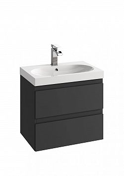 Koupelnová skříňka pod umyvadlo v provedení grafit 40 cm F1243