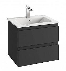 Koupelnová skříňka pod umyvadlo v provedení grafit 43 cm F1243