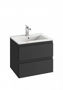Koupelnová skříňka pod umyvadlo v provedení grafit 46 cm F1243
