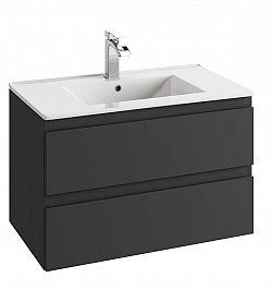 Koupelnová skříňka pod umyvadlo v provedení grafit 59 cm F1243