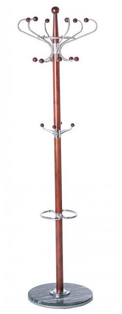 Kovový stojanový věšák 183 cm v dekoru hruška typ CR 18 KN1010