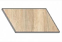Kuchyňská pracovní deska 260 cm dub sonoma
