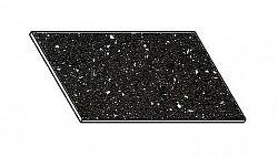 Kuchyňská pracovní deska 40 cm ANDROMEDA černá