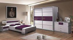 Ložnice KN174 F (postel 160, skříň, komoda, noční stolek)