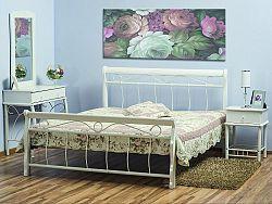 Manželská postel VENECIA bílá 160x200 cm