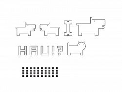 Nálepky GRAPHIC II (2) HAU