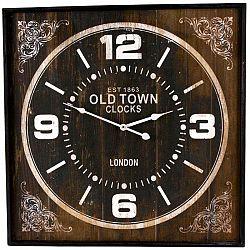 Nástěnné hodiny Old Town hranaté, 60 cm