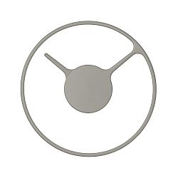 Nástěnné hodiny Stelton Time, 22 cm, šedá