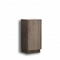 Nízká skříňka, dub sonoma trufel, OLIVIA TR12