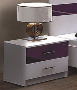 Noční stolek KN174 fialový