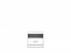 Noční stolek NEPO KOM1S bílá