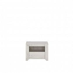 Noční stolek v moderním bílém provedení ANGEL typ 95