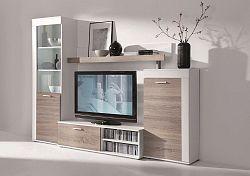 Obývací stěna v trendy dekoru dub sonoma lanýž KN177