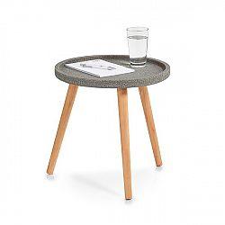 Odkládací stolek malý dekor beton E398