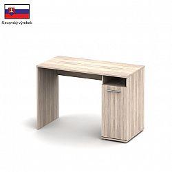 PC stůl v jednoduchém designu dub sonoma Singa 21