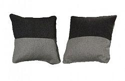 Polštářky v šedých barvách KN330