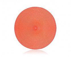 Prostírání kruhové PP 38 cm, peach