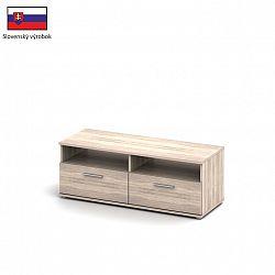 RTV stolek v jednoduchém designu dub sonoma Singa 12