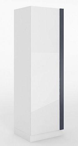 Skříň v bílém lesku v pravém provedení typ 01P KN346