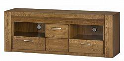 Televizní stolek se zásuvkou v dekoru dub rustical typ 25 KN621