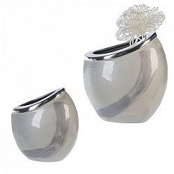 Váza hliníková Vanity, 30 cm