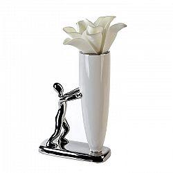 Váza keramická Man, 22 cm
