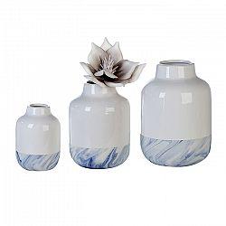 Váza porcelánová Blue, 21 cm