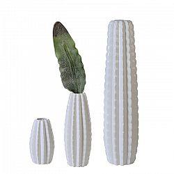 Váza porcelánová Mexico, 41 cm, bílá