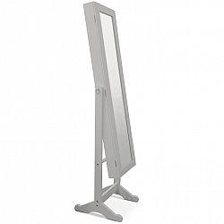 Velké praktické zrcadlo 2 v 1 šedé barvy TK222