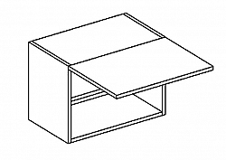 WO 50/30  horní skříňka nad digestoř SANDY STYLE