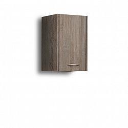 Závěsná skříňka, dub sonoma trufel, OLIVIA TR15
