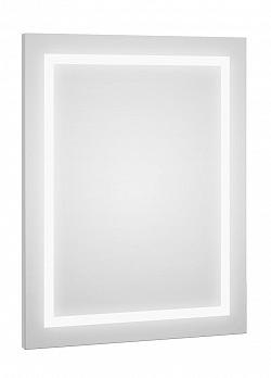 Zrcadlo s LED osvětlením s bílým proužkem F1273