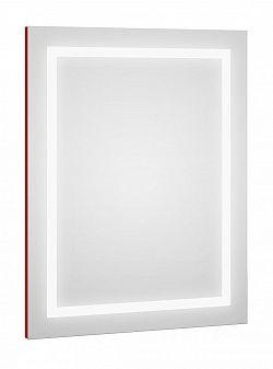 Zrcadlo s LED osvětlením s červeným proužkem F1273