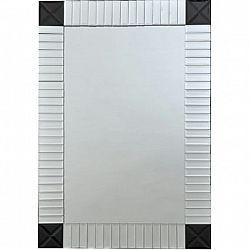 Zrcadlo, stříbrná/černá, ELISON TYP 3