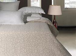 Forbyt, Přehoz na postel, Arabesque, béžová 240 x 260 cm