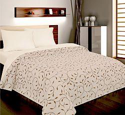 Forbyt, Přehoz na postel, Indiana hnědá 240 x 260 cm