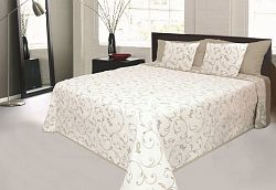Forbyt, Přehoz na postel, Orleans, béžový 240 x 260 cm