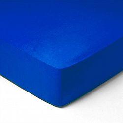 Forbyt, Prostěradlo, Jersey, tmavě modrá 70 x 140 cm