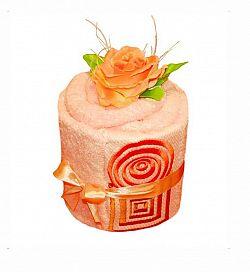 Forbyt, Ručníkový dort, Alehandro simple, lososový
