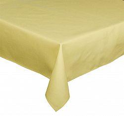 Forbyt, Ubrus bavlněný, Aligátor hladký, světle žlutý 120 x 160 cm
