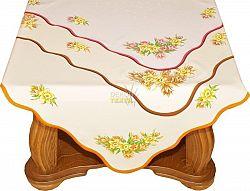 Forbyt, Ubrus, Jarní Krokus oranžová 85 x 85 cm