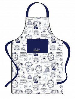 Forbyt, Zástěra kuchyňská, Provence, modrá
