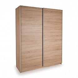 Skříň s posuvnými dveřmi DECOR 150 dub