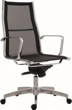 Antares Kancelářská židle 8800 Kase mesh - vysoká záda Bílá síť