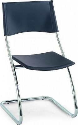Autronic Jídelní židle B161 GRN - Chrom / zelená