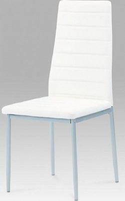 Autronic Jídelní židle DCL-117 WT - bílá