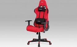 Autronic Kancelářská židle KA-F05 RED