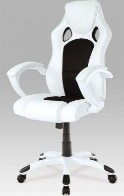 Autronic Kancelářská židle KA-N157 BKW